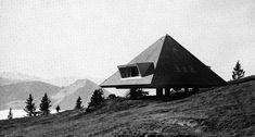 Justus Dahinden, Holiday House, Rigi, Switzerland, 1953