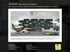 Muebles Galvañ. Muebles de diseño y Decoración. CMS. Alicante. 2010.