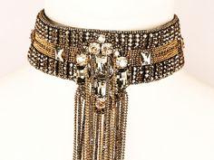 Octavia Choker Necklace By BEGADA | Statement Necklaces - AHAlife.com