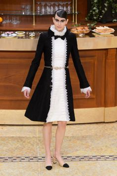 Chanel Fall 2015. See all the best runway looks from Paris Fashion Week here: