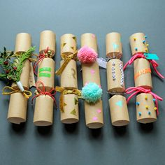 DIY Christmas Crackers make and decorate your own crackers by berylune - Kinds Of Snacks 2020 Best Christmas Presents, Christmas Night, Kids Christmas, Christmas 2019, Christmas Stockings, Christmas Crafts, Xmas, Christmas Sayings, Christmas Pictures