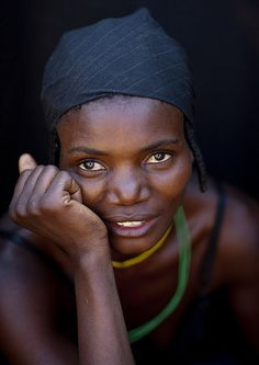Mudimba tribe woman - Angola by Eric Lafforgue, via Flickr
