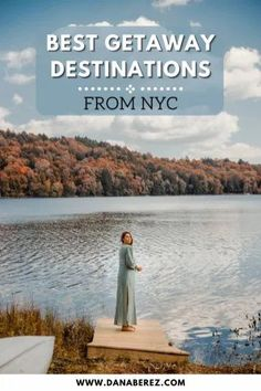 Here are the best weekend getaways from NYC that are less than a 5 hour drive from the city for a weekend of relaxation, adventure, and scenery. Best places to visit in the tri-state area for a road trip. NYC road trip ideas. New York Travel Ideas New York Travel Guide, Usa Travel Guide, New York City Travel, New Travel, Travel Usa, Travel Guides, Weekend Getaways From Nyc, Weekend Trips, West Coast Road Trip
