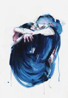 the noise of the sea by agnes-cecile.deviantart.com on @DeviantArt