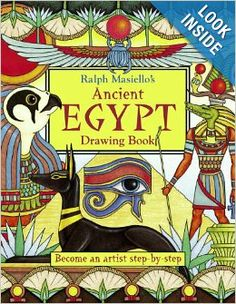 Ralph Masiello's Ancient Egypt Drawing Book: Ralph Masiello: 9781570915345: Amazon.com: Books