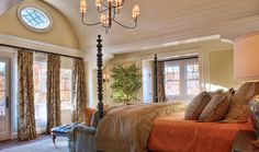 Like the ceiling and trim work. Like how spacious it is. [Gabriel] Lake Keowee Master Bedroom