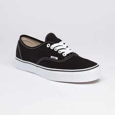 black; Original Classic Authentic  by Vans- I need a new pair!