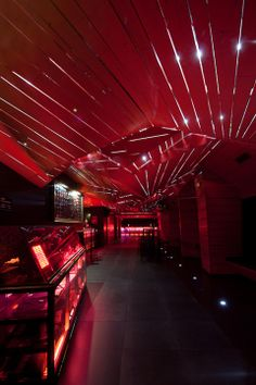 Tendinha dos Clérigos bar and nightclub, Porto, Portugal (by AVA) Gym Design, Event Design, Visual Merchandising, Best Places In Portugal, Red Color Schemes, Porto Portugal, Restaurant Lounge, Architecture Magazines, Design Furniture