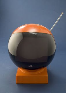 Just saw this JVC Videosphere on Flog it, lol! Absolutely amazing, swivels on its little stand or can be hung from the ceiling - such a clever idea, better than tvs now!!