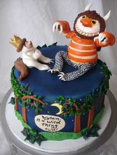 "#Where the Wild Things Are from CakeWrecks.com ~ ""Sunday Sweets: Here There Be MONSTERS"" ~ June 9, 2013"