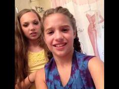 "Mackenzie & Maddie Ziegler Vine ""You're not done."" - YouTube"
