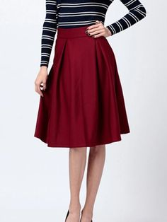 Wholesale BG-impression Retro High Waist skirt Dress Skirts Sheds