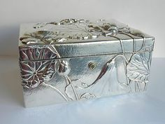 Sterling Silver Box Sold for $5350 Bidders 16