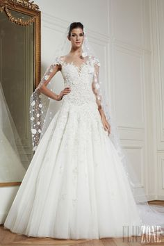 Zuhair Murad - Sposa - Primavera-Estate 2013 - http://it.flip-zone.com/fashion/bridal/couture/zuhair-murad-3162