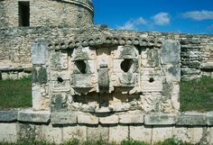 The archaeological area of Mayapan, in #Yucatan, #Mexico.