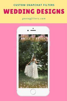 Custom Snapchat Filters Wedding Dreams, Dream Wedding, Dove House, Filter Design, Snapchat Filters, Wedding Designs, Fun, Hilarious