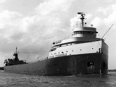 Edmund Fitzgerald, freighter legendarily wrecked in Lake Superior and commemorated in a song that was a hit for Gordon Lightfoot.