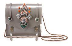 Shourouk beaded satchel. Pure love.