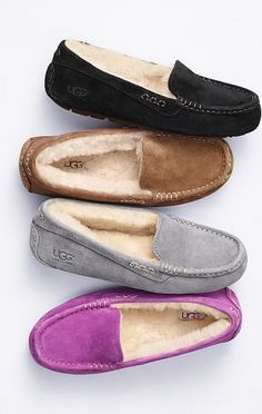 #Ugg moccasins are a great way to keep your feet warm during cold weather and they tend to be extremely comfortable.