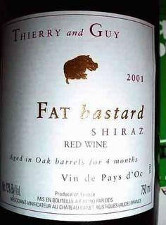 Fat bastard shiraz