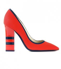 Pollini Pointed Toe Pumps. The $0 Trick to Walk in Heels Without Pain via @WhoWhatWear