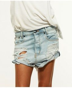 One Teaspoon Denim Shorts SHOP IT One Teaspoon Beauty
