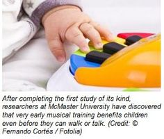 Babies Brains Benefit from Music Lessons, Even Before They Can Walk and Talk
