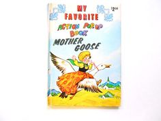 My Favorite Action PopUp Book Mother Goose by lizandjaybooksnmore