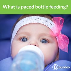 You've breastfed your baby for 6 weeks, but now it's time to go back to work. Will your baby prefer the bottle? Learn more about paced bottle feeding to mimic nursing.
