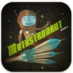 Mathstronaut iPad app is a fast paced maths game for kids. Questions play out in a variety of crazy, colourful and funny animations as players blast their way into space. Fifth Grade Math, Third Grade, Best Math Apps, Math Blocks, Math Games For Kids, Math Classroom, Classroom Ideas, Primary Maths, Teacher Tools