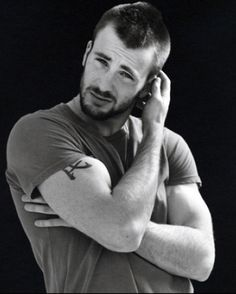 Chris Evans - For real though, If I could have anyone in the entire universe, I would pick him. He's just a dream.