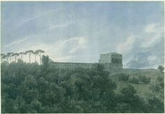 View of the Villa Lante on the Janiculum (Gianicolo) in Rome, 1782–83 John Robert Cozens (British, 1752–1798) Watercolor over traces of graphite on white laid paper 10 x 14 1/2 in. (25.3 x 36.8 cm) Rogers Fund, 1967 (67.68)