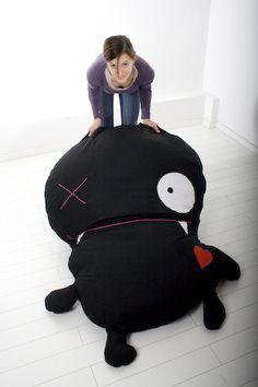SitzMonster // Floor cushion monster by mein Stilbruch via DaWanda.com