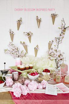 Mesa cereja, decoração festa, decoração oriental, mesa cerejeira/ blosson cherry party, cherry tablescape