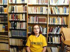 Irene,participante de Lass uns Sprechen, apoya a las Bibliotecas Públicas. 2013 Bookcase, Irene, Home Decor, Organize, Public Libraries, Advertising, Lets Go, Decoration Home, Room Decor