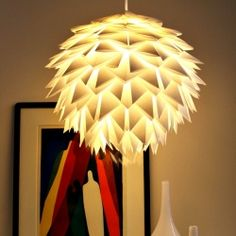 Stellar paper lighting examples from simple materials.