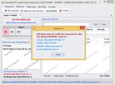 Phần mềm quản lý quán Karaoke | Thông tin Dịch vụ - Thiết kế web chuyên nghiệp - Công Nghệ Mới Quốc Tế | Thiết kế website | Phần mềm