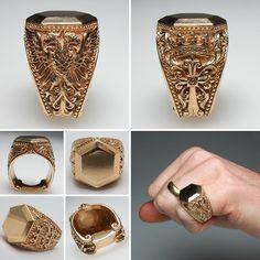 Custom Handmade Signet Rings