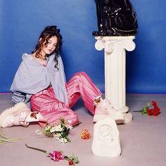 シャツはルーズに着こなすのが写真家Shot by Kusk @shotbykusk が撮り下ろした奇妙な世界をお届け April issue P81 mass appeal model @7_emil_y shirt @1977circa camisole @cry_tokyo pants @rekisami shoes @pumabyrihanna Photo&Gif by @shotbykusk #nylonjapan #nylonjp #fashion #shotbykusk #shirt #massappeal #trend #item #caelumjp #gif  via NYLON JAPAN MAGAZINE OFFICIAL INSTAGRAM - Celebrity  Fashion  Haute Couture  Advertising  Culture  Beauty  Editorial Photography  Magazine Covers  Supermodels  Runway Models