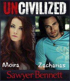 Uncivilized by Sawyer Bennett  #DirtyGirlRomance