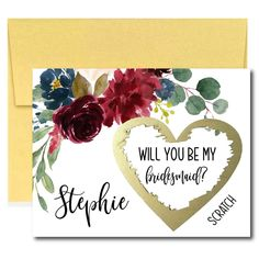 Marsala Will You Be My Bridesmaid Scratch Off Cards Navy Bridal Parties, Navy Bridesmaids, Scratch Off Cards, Bridal Shower Bingo, Baby Shower, Bridesmaid Proposal Cards, Will You Be My Bridesmaid, Marsala, Or Rose