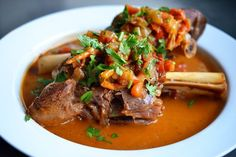 Pressure Cooker Lamb Shanks | Nom Nom Paleo  (could make this without a pressure cooker)