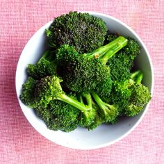 Steamed Broccoli: Perfectly cooked broccoli! This is simple recipe is ...