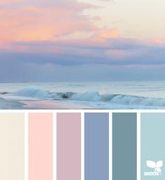 Heavenly Hues | design seeds | Bloglovin'