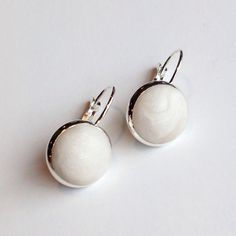 ClaudiaMadeThis Pearl and silver drop earrings, pearl lever back earrings, shimmer drop earrings, minimalist earrings, winter accessories, stocking fillers