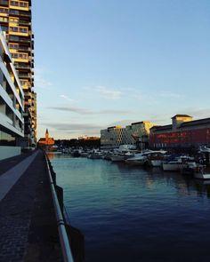 The marina of Cologne #Yacht #Yachthafen #Marina #Cologne...