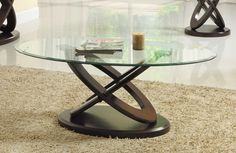 Homelegance Firth II Cocktail Table - Deep Brown Cherry