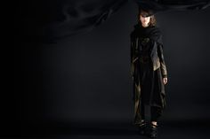 Golden Black by studio Goth, Studio, Collection, Black, Style, Fashion, Gothic, Black People, Fashion Styles