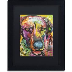 Trademark Fine Art Ready to go Canvas Art by Dean Russo, Black Matte, Black Frame, Size: 11 x 14