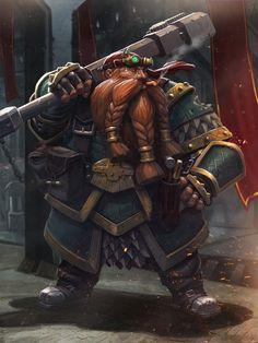 Marc Lee Fantasy Dwarf, Fantasy Rpg, Fantasy Artwork, Steampunk Characters, Dnd Characters, Fantasy Characters, Fantasy Character Design, Character Art, Dark Souls